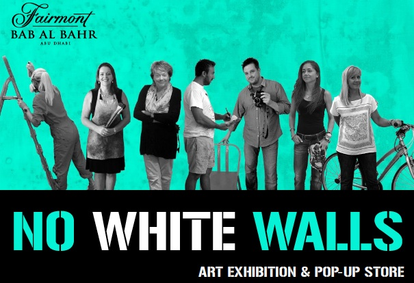 no white walls exhibition in Abu dhabi