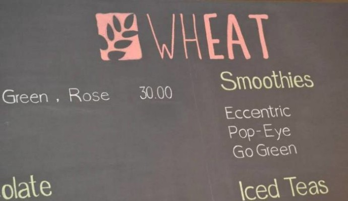 whEAT smoothie menu