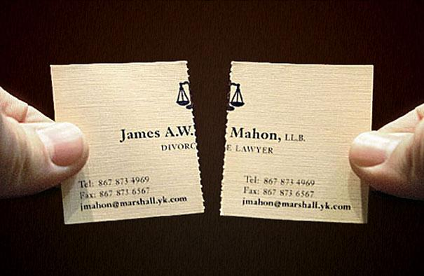 Creative business cards divorce lawyer 2 abu dhabi confidential creative business cards divorce lawyer 2 reheart Image collections