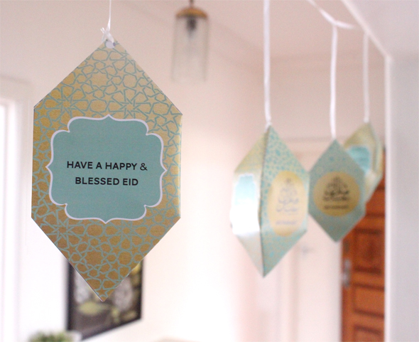DIY Eid decoration 2014 collection