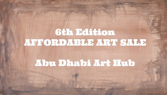 Affordable Art Sale ADAH