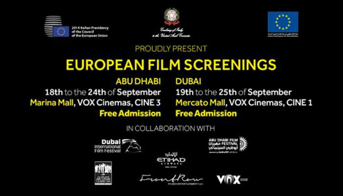 European Film Screenings Abu Dhabi