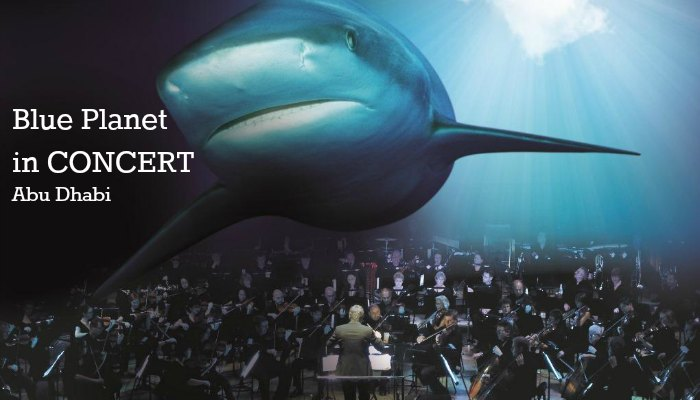 Blue Planet in concert in Abu Dhabi