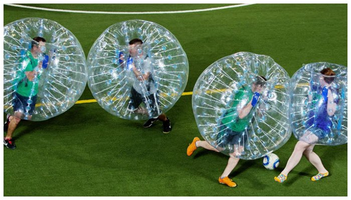 Bubble Soccer now in the UAE