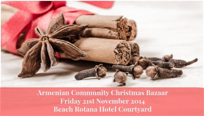 Armenian Community Christmas Bazaar 21st November 2014