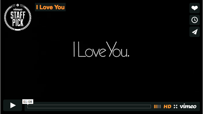 I Love You Video
