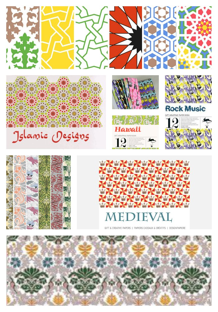 Pepin Press wrapping papers