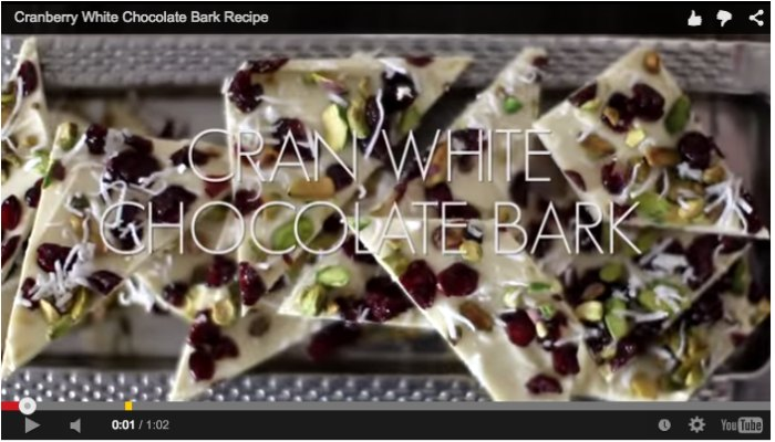 White Chocolate bar for Easter