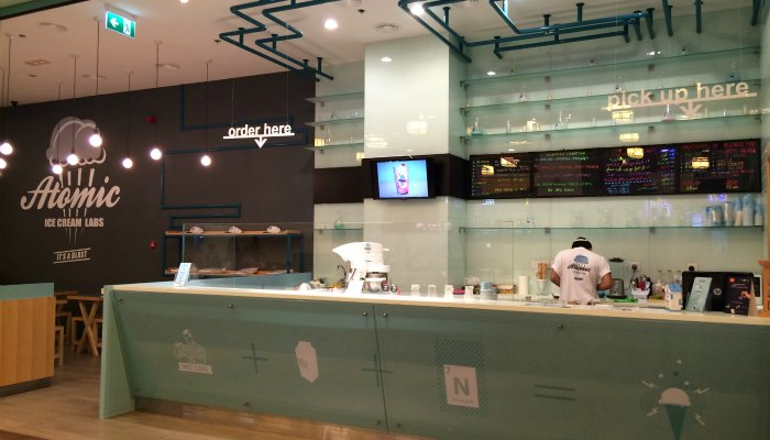 Atomic Ice Cream Labs in Abu Dhabi