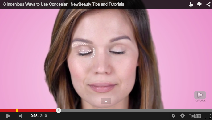 VIDEO HOW TO APPLY CONCEALER