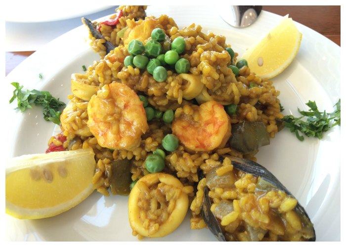 Paella at Flooka Abu Dhabi every Saturday