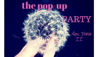 pop up party II in Abu Dhabi