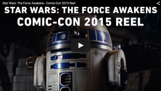 Star Wars VII Comic Con