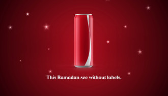 Coca Cola ad during Ramadan 2015
