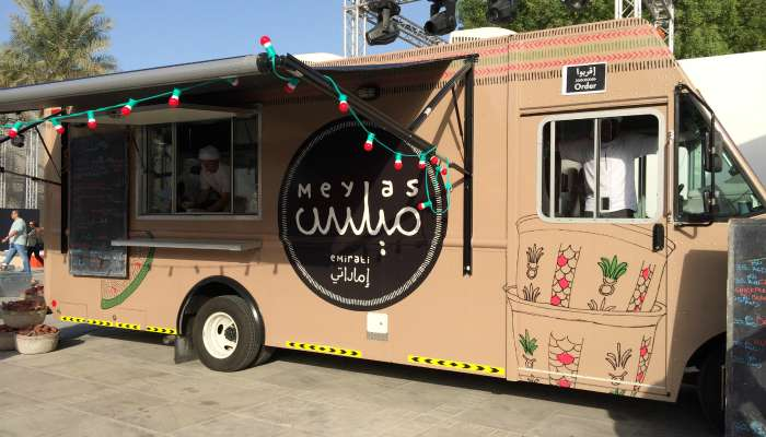 Meylas Food Truck in Abu Dhabi
