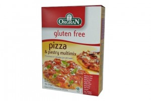 Gluten free Pizza and pastry mix by Orgran