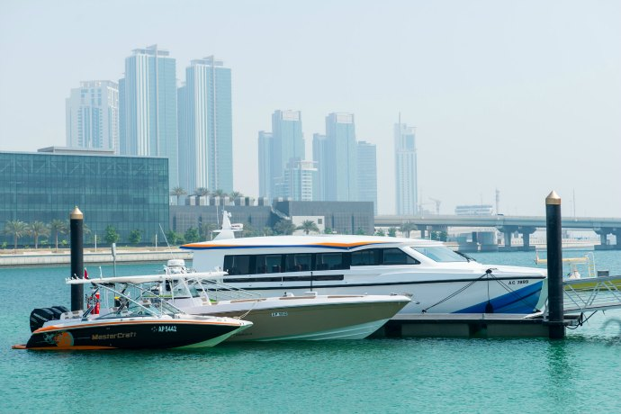 Jalboot Ferry service in Abu Dhabi