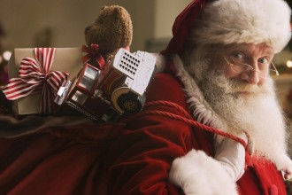 Santa Claus and The Magical Journey in Abu Dhabi