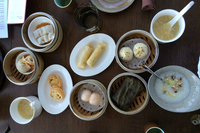 All you can eat dim sum lunch in Abu Dhabi