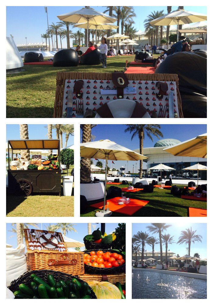Picnic Brunch at Yas Viceroy
