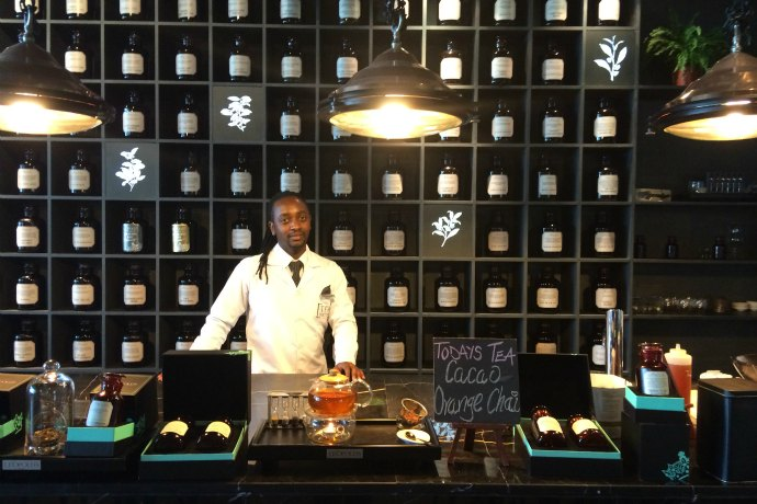 Tea Library at Leopold's of London Abu Dhabi