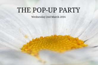 The Pop Up Party March 2016