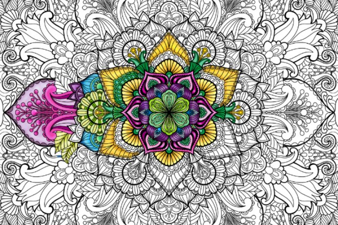 COLORING BOOKS FOR ADULTS APP