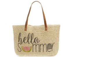 9 stylish beach bags for this summer