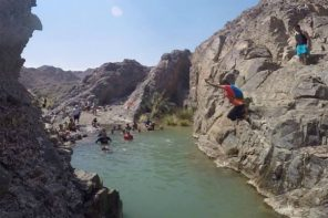 TRY YOUR HAND AT CANYONING IN THE UAE