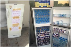 The Sharing Fridge in Abu Dhabi