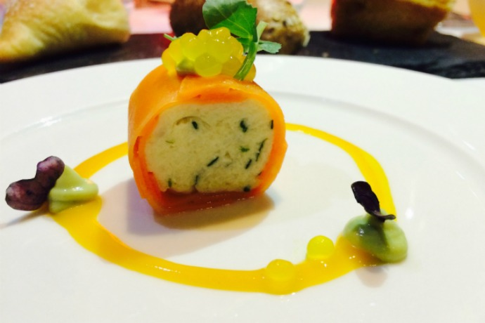 Crab Cannelloni at The Foundry Abu Dhabi