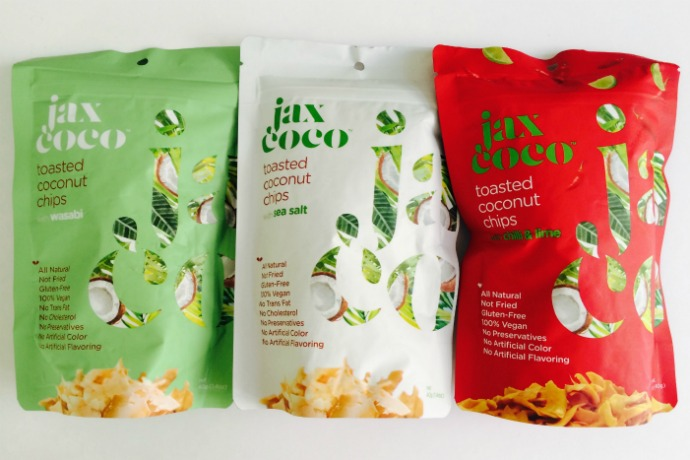 Jax Coco toasted coconut chips in Abu Dhabi