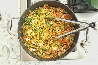 Zoodles or the healthy alternative to pasta