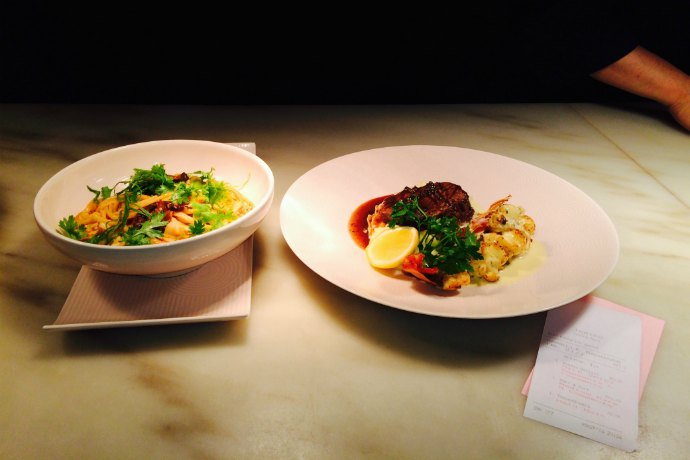 main courses at Teatro