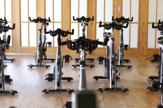 Indoor Cycling at the Room in Abu Dhabi