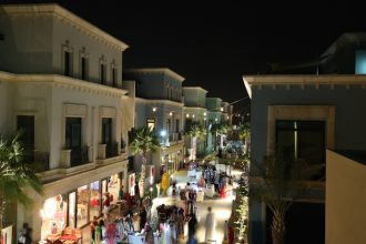 Twilight Bazaar in Abu Dhabi