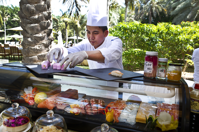 Brunch at Emirates Palace
