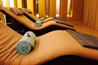 Aromatherapy massage at Zen The Spa Beach Rotana Hotel Abu Dhabi
