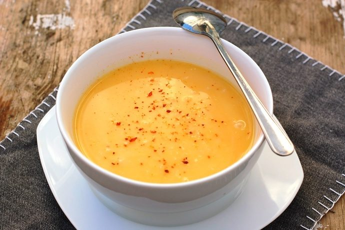 Atkins Recipe Coconut Curried Pumpkin Soup