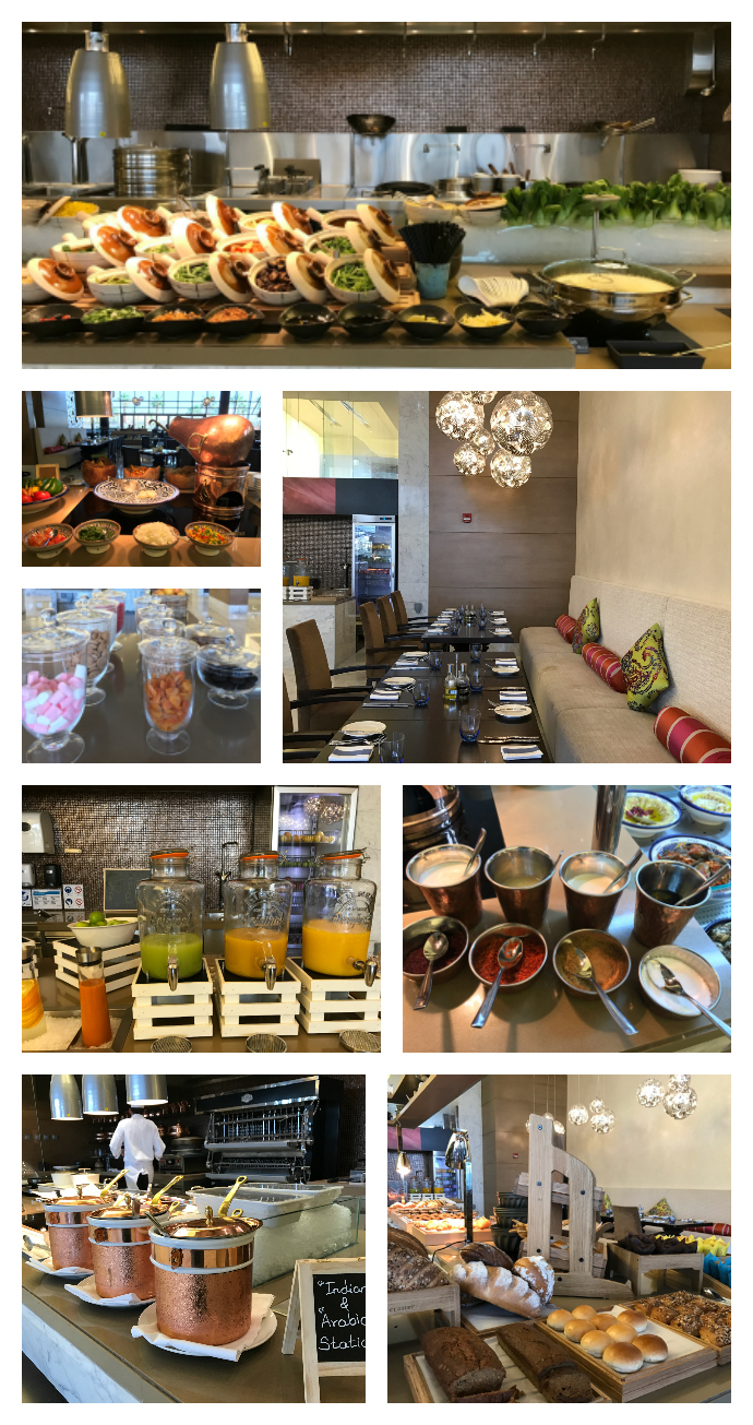 Buffet Breakfast At Marriott Hotel Al Forsan