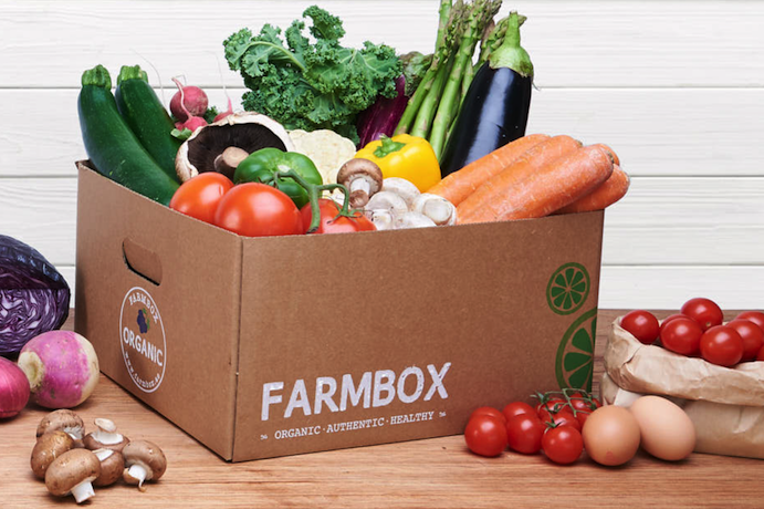 Farmbox organic vegetables and organic fruits UAE