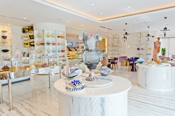 Delecto Sweet shop in Abu Dhabi