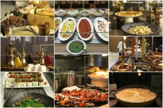 Iftar at Marriott Al Forsan Abu Dhabi