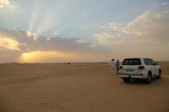 Private Sunrise Desert Safari in the UAE