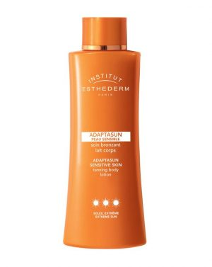 institut esthederm adaptasun bodymilk sensitive skin extreme sun