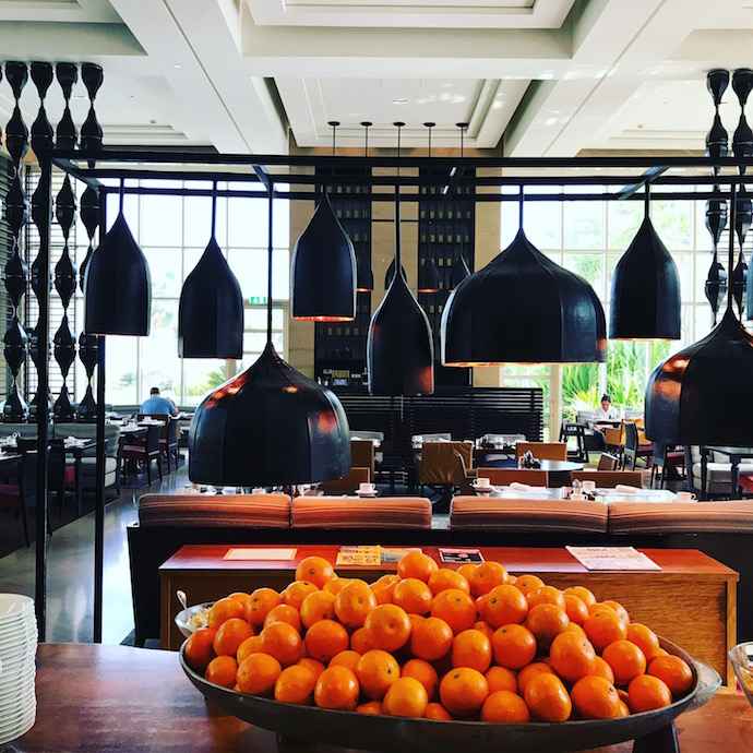 Buffet Breakfast at The Cafe at Park Hyatt Abu Dhabi