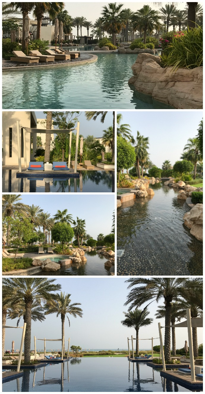 Pools options at Park Hyatt Abu Dhabi