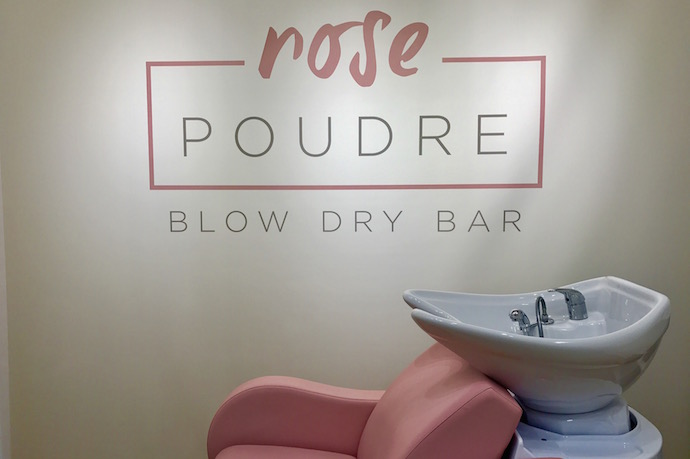 Rose poudre a new blow dry bar to check out in abu dhabi - Salon rose poudre ...