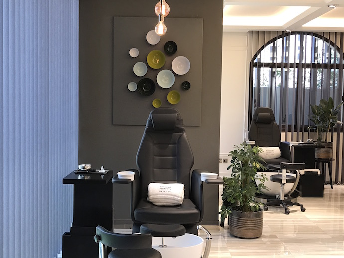 Nail Spa Salon Ground Floor Rossano Ferretti Abu Dhabi