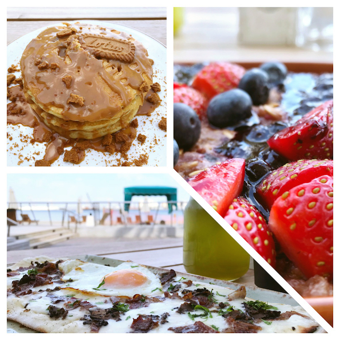 Breakfast options at Berris Al Muneera Abu Dhabi
